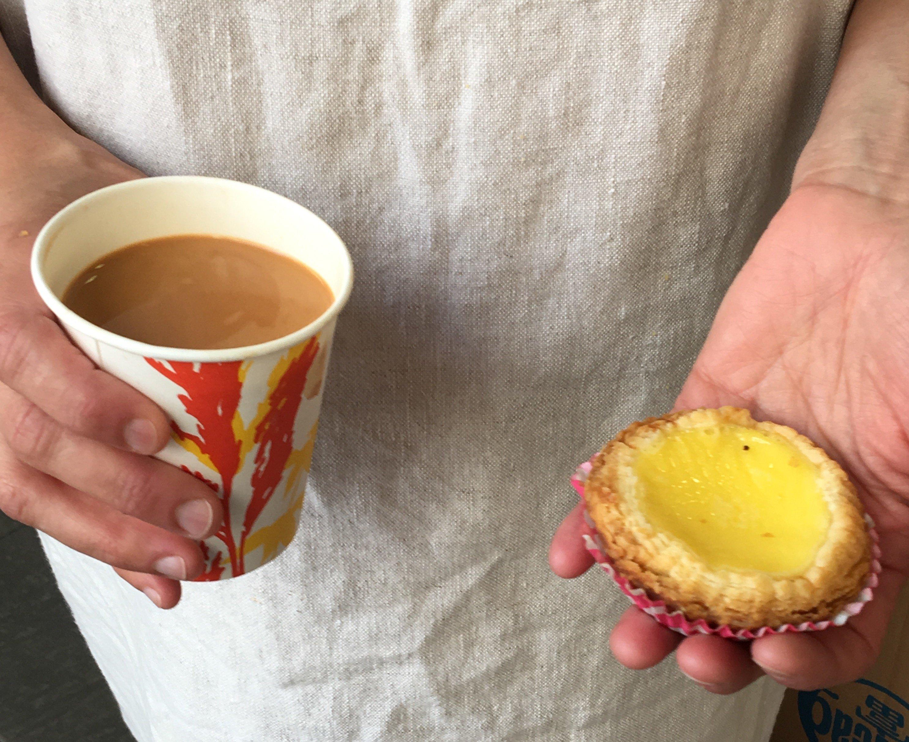 Hong-Kong-Iced-Milk-Egg-Custard-Tart