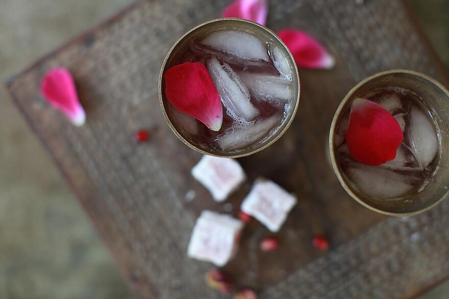 Pomegranate Rose Tea