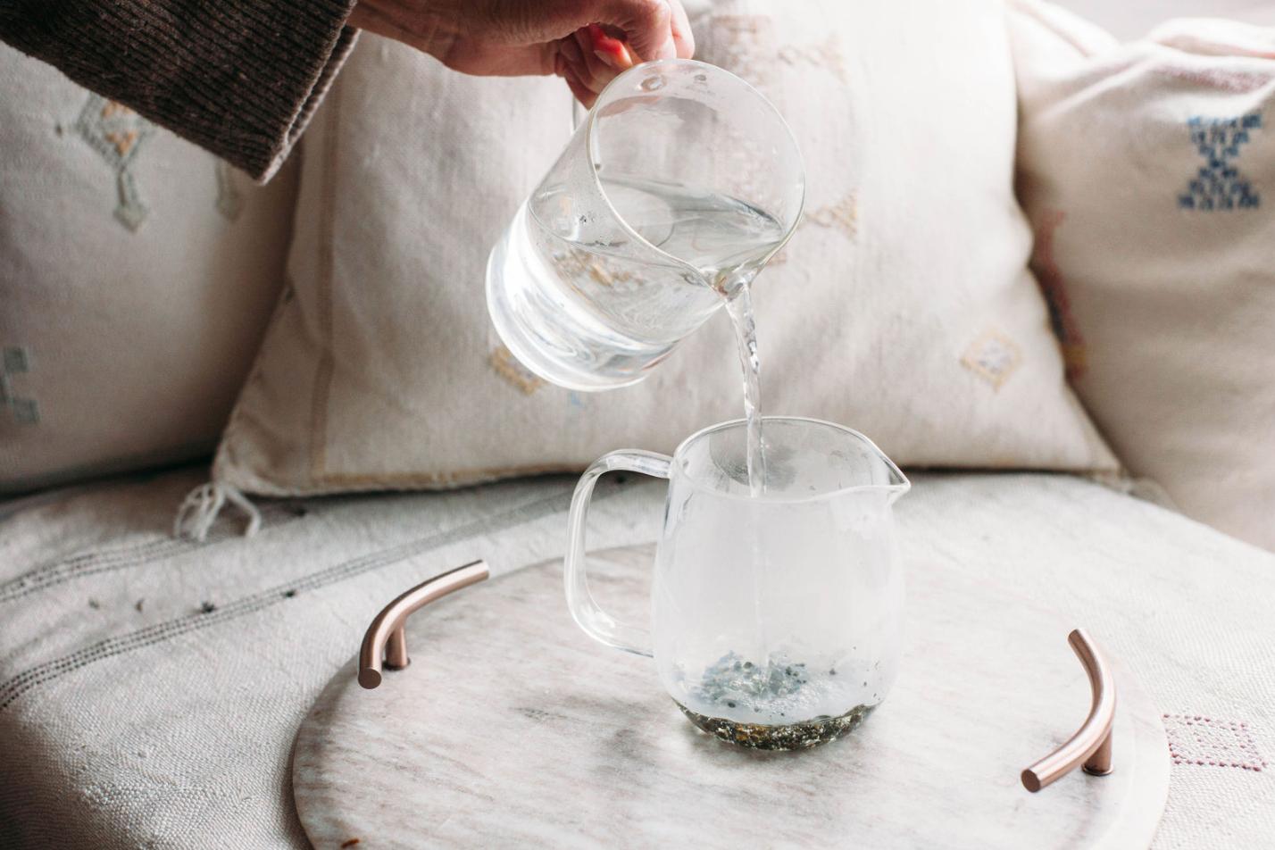 Steeping-tea