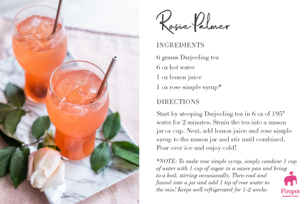 Rosie Palmer recipe card