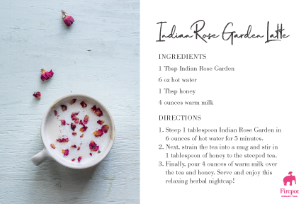 Indian Rose Garden Recipe Card