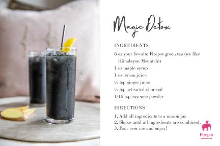 Magic Detox Recipe Card