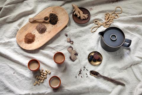 Chai spices and ingredients
