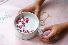 Indian Rose Garden Latte