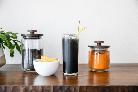 Spring Detox with ingredients