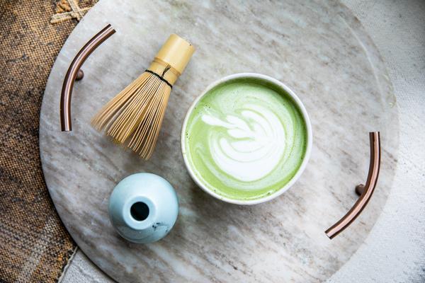 Cardamom Matcha Latte