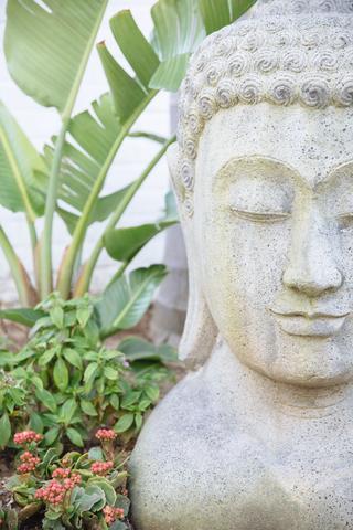 Zen Mind statue